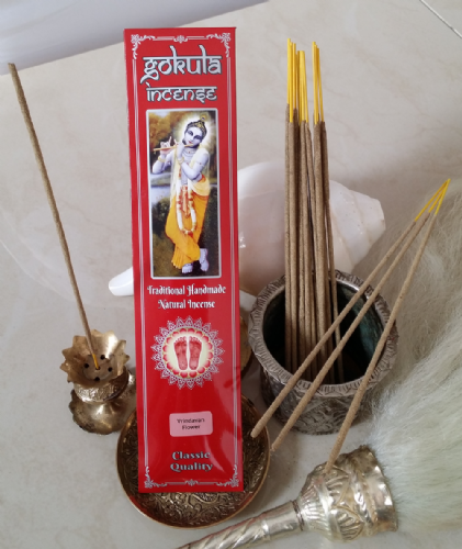 Vrindavan Flower Incense Sticks - 20 grams
